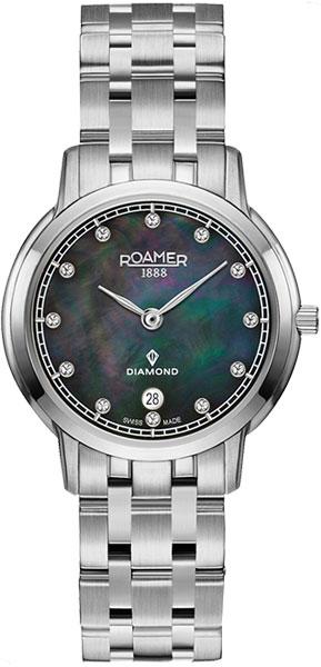 цена Женские часы Roamer 515.811.41.59.50 онлайн в 2017 году