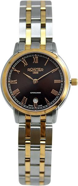 цена Женские часы Roamer 515.811.49.05.50 онлайн в 2017 году