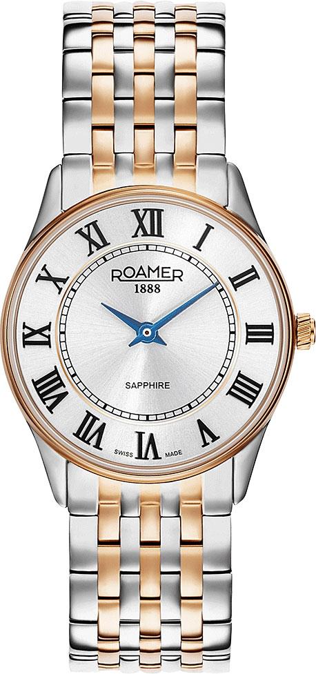 Женские часы Roamer 520.820.49.15.50 женские часы roamer 650 815 48 45 90