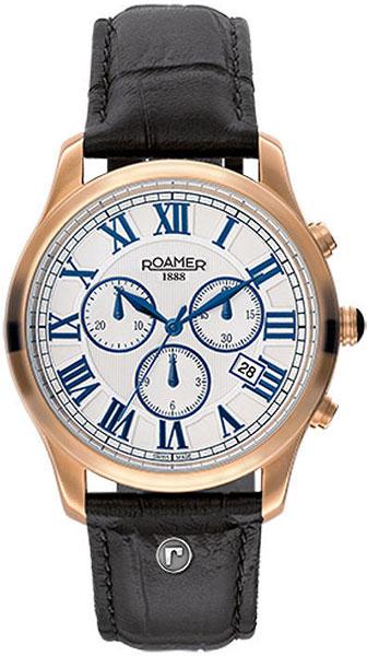 Мужские часы Roamer 530.837.49.12.05 браслеты indira браслет с камнем br042