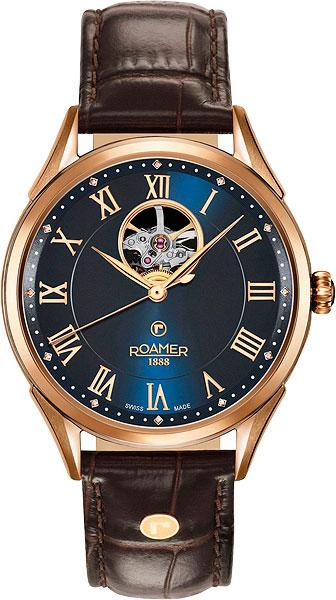 Мужские часы Roamer 550.661.49.42.05 roamer 508 856 47 15 51 roamer