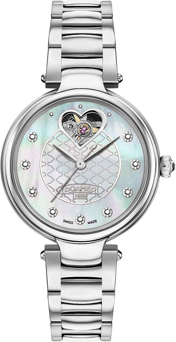 лучшая цена Женские часы Roamer 557.661.41.19.50
