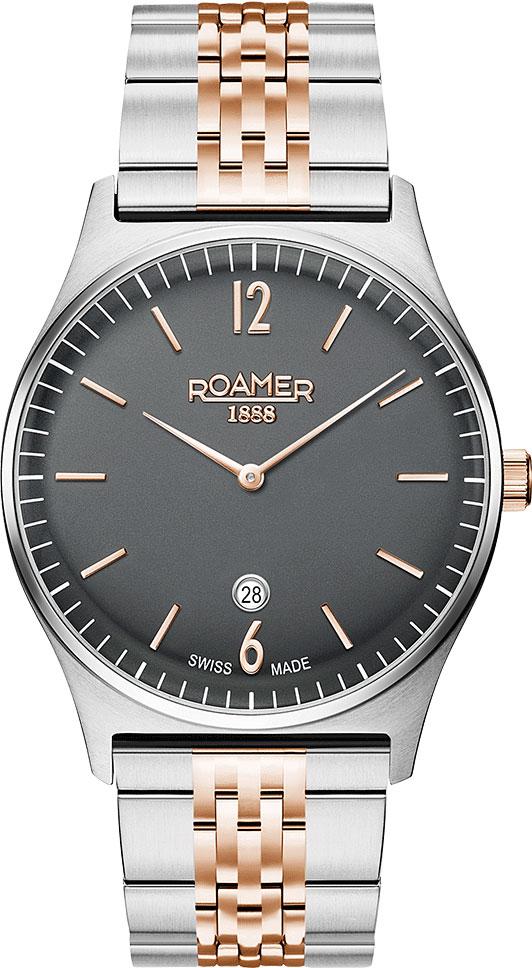 купить Мужские часы Roamer 650.810.41.65.50 по цене 20950 рублей
