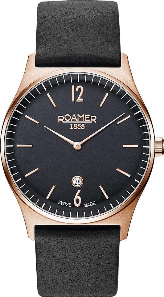 купить Мужские часы Roamer 650.810.49.60.05 по цене 19550 рублей