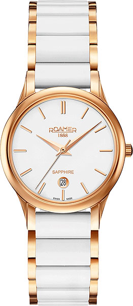 цена Женские часы Roamer 657.844.49.25.60 онлайн в 2017 году