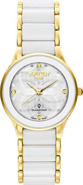 Женские часы Roamer 677.981.48.20.60 браслет soul diamonds женский золотой браслет с бриллиантами buhk 9087 14kw