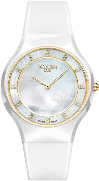 цена Женские часы Roamer 687.830.48.29.06 онлайн в 2017 году