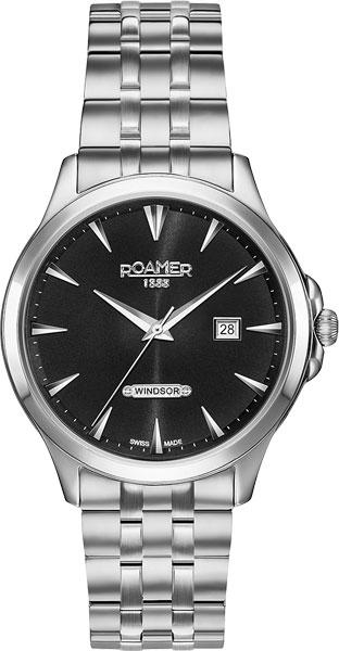 Мужские часы Roamer 705.856.41.55.70 часы newman m2 bluetooth smart watch водонепроницаемые мужчины и женщины здоровый сердечный ритм браслет браслеты классический черный