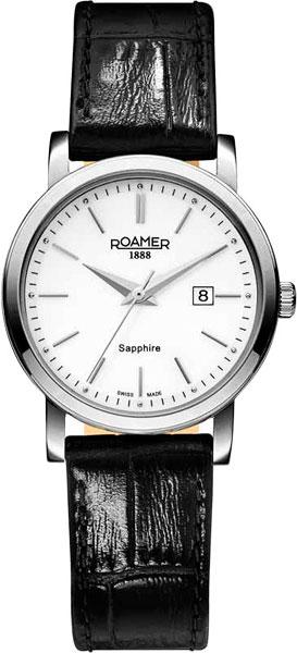 цена Женские часы Roamer 709.844.41.25.07 онлайн в 2017 году