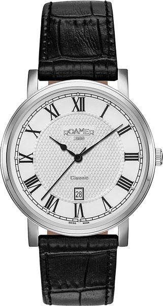 цена  Мужские часы Roamer 709.856.41.22.07  онлайн в 2017 году