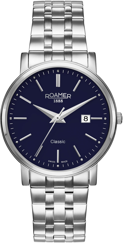 цена Мужские часы Roamer 709.856.41.45.70 онлайн в 2017 году