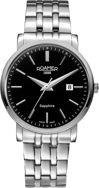 цена  Мужские часы Roamer 709.856.41.55.70  онлайн в 2017 году