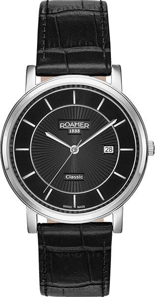 Мужские часы Roamer 709.856.41.57.07 коляска 3 в 1 tutis zippy orbit белая рама темно синий голубой белый кант 533065