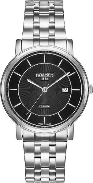 Мужские часы Roamer 709.856.41.57.70 557 107nf3 02b d sub backshells light weight solid banding b mr li