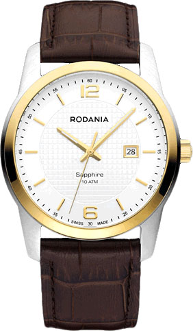 Мужские часы Rodania RD-2511070 zlimsn 18 20 22 24 26mm pure solid stainless steel watch buckle clasps silver rose gold black polished for leather watch bands
