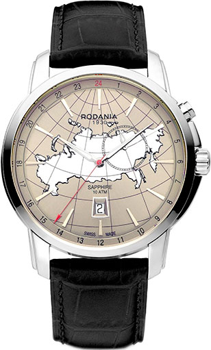 цена  Мужские часы Rodania RD-2514728  онлайн в 2017 году
