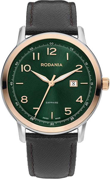 цена Мужские часы Rodania RD-2515324 онлайн в 2017 году