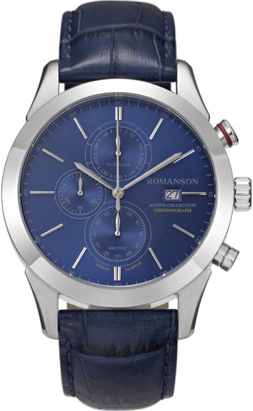 Мужские часы Romanson AL6A07HMW(BU) все цены