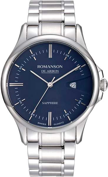 Мужские часы Romanson CA5A10MMW(BU) romanson rl 6a11q lw bu
