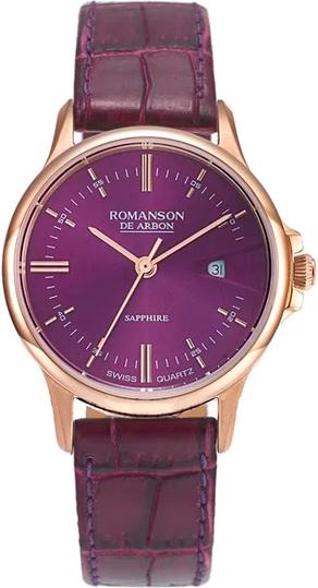 Женские часы Romanson CB5A10LYR(WN) romanson cl 5a10 lr wn