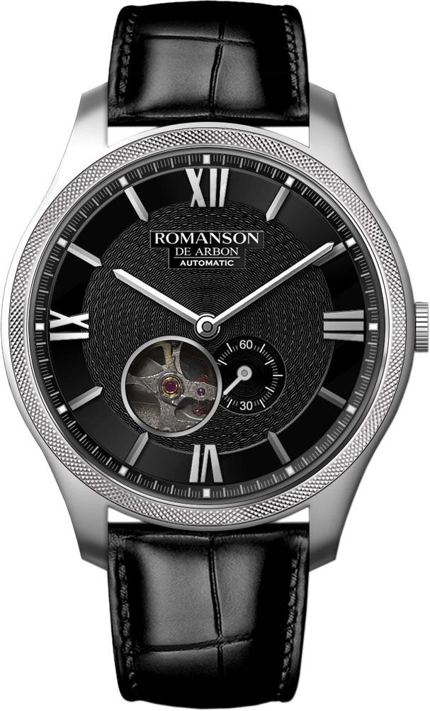 лучшая цена Мужские часы Romanson CB8A13RMW(BK)