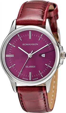 Женские часы Romanson CL5A10LLW(WINE) женские часы romanson rm6a05llw wine