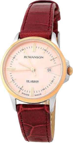 Фото - Женские часы Romanson CL5A10LYJ(PINK) бензиновая виброплита калибр бвп 13 5500в