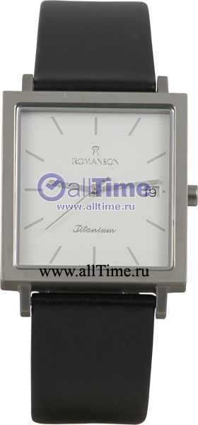 Мужские часы Romanson DL2133NMW(WH) romanson часы romanson dl2158clc wh коллекция modish