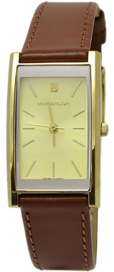 Женские часы Romanson DL2158CLG(GD) женские часы romanson tl0334lg gd