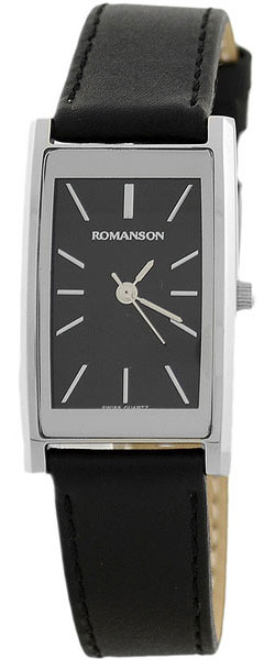 Женские часы Romanson DL2158CLW(BK) romanson часы romanson dl2158clw bk коллекция modish