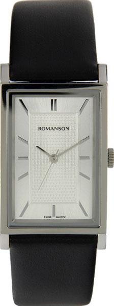 лучшая цена Мужские часы Romanson DL3124CMW(WH)
