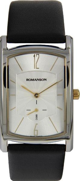 Мужские часы Romanson DL4108CMC(WH)