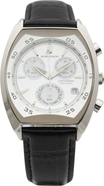 Мужские часы Romanson DL4141HMW(WH)