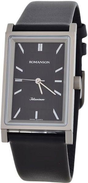 Мужские часы Romanson DL4191SMW(BK)