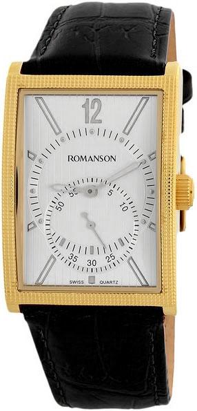 Мужские часы Romanson DL5146SMG(WH)