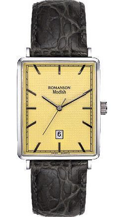 Женские часы Romanson DL5163SLW(GD) женские часы romanson rm8276lg gd