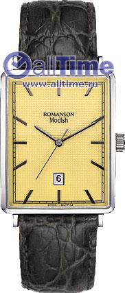 Мужские часы Romanson DL5163SMW(GD) romanson часы romanson dl5163smw gd коллекция modish
