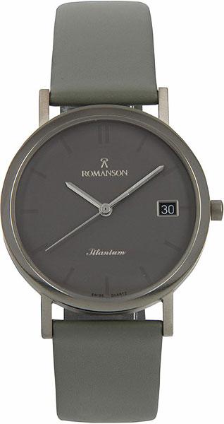 цена Мужские часы Romanson DL9782MW(GR) онлайн в 2017 году