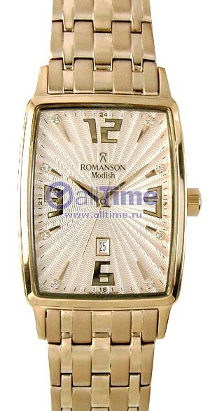 Мужские часы Romanson DM5127MR(RG) romanson romanson tm 2101r mr rg