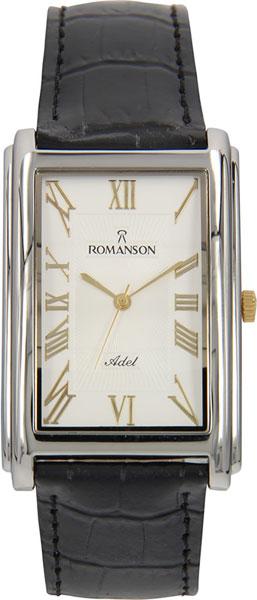Мужские часы Romanson TL0110SMJ(WH) romanson tl0110smj wh romanson
