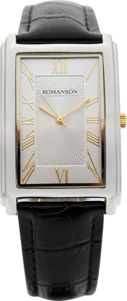Мужские часы Romanson TL0110SXC(WH) romanson tm 9248 mj wh