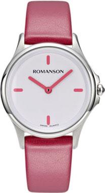 Женские часы Romanson ML5A12LLW(PINK)BV