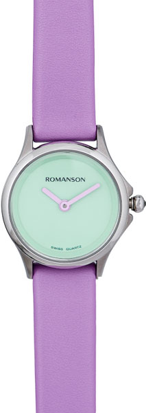 Женские часы Romanson ML5A12LYW(PURPLE)