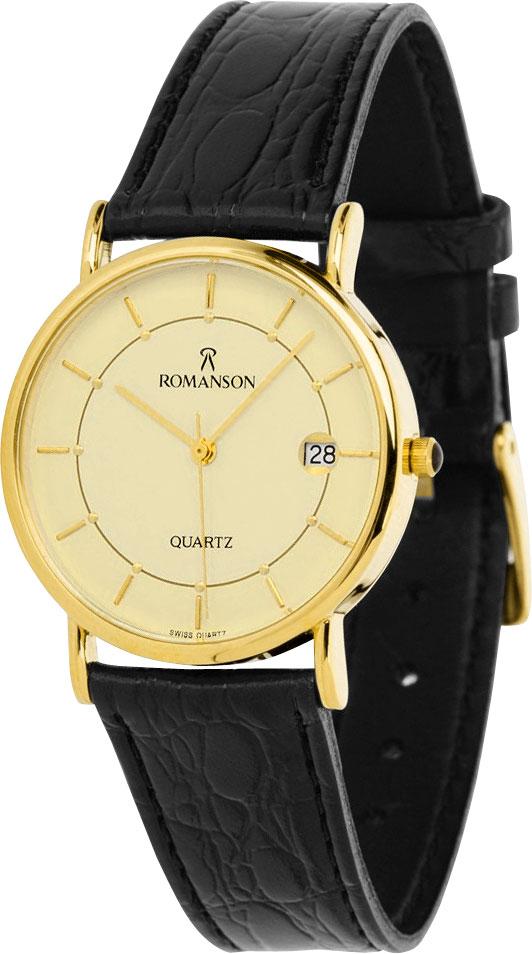 Женские часы Romanson NL1120SLG(GD) romanson часы romanson rm2140qlg gd коллекция lady dressy