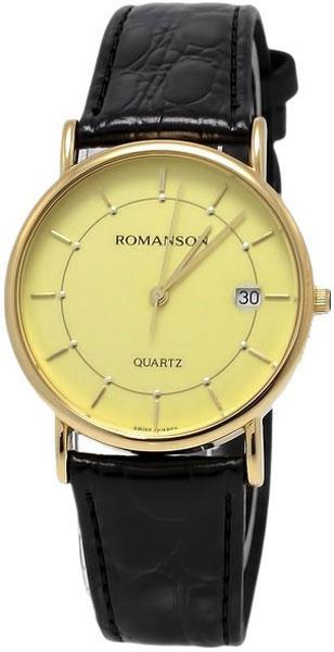 лучшая цена Мужские часы Romanson NL1120SMG(GD)