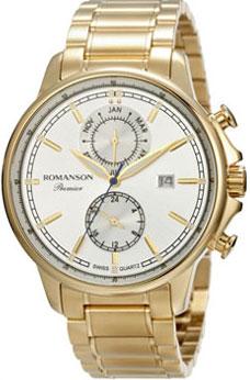 Мужские часы Romanson PA3251FMG(WH)