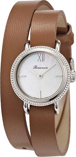 Женские часы Romanson PB4233LW(WH) romanson pb 3247l lw wh