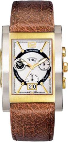 Мужские часы Romanson PL6152HMD(WH)