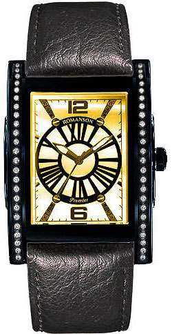 Мужские часы Romanson PL6152QMD(GD) romanson rm 9207q lj gd