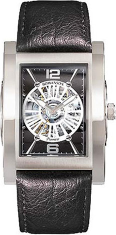 Мужские часы Romanson PL6152RMW(BK)